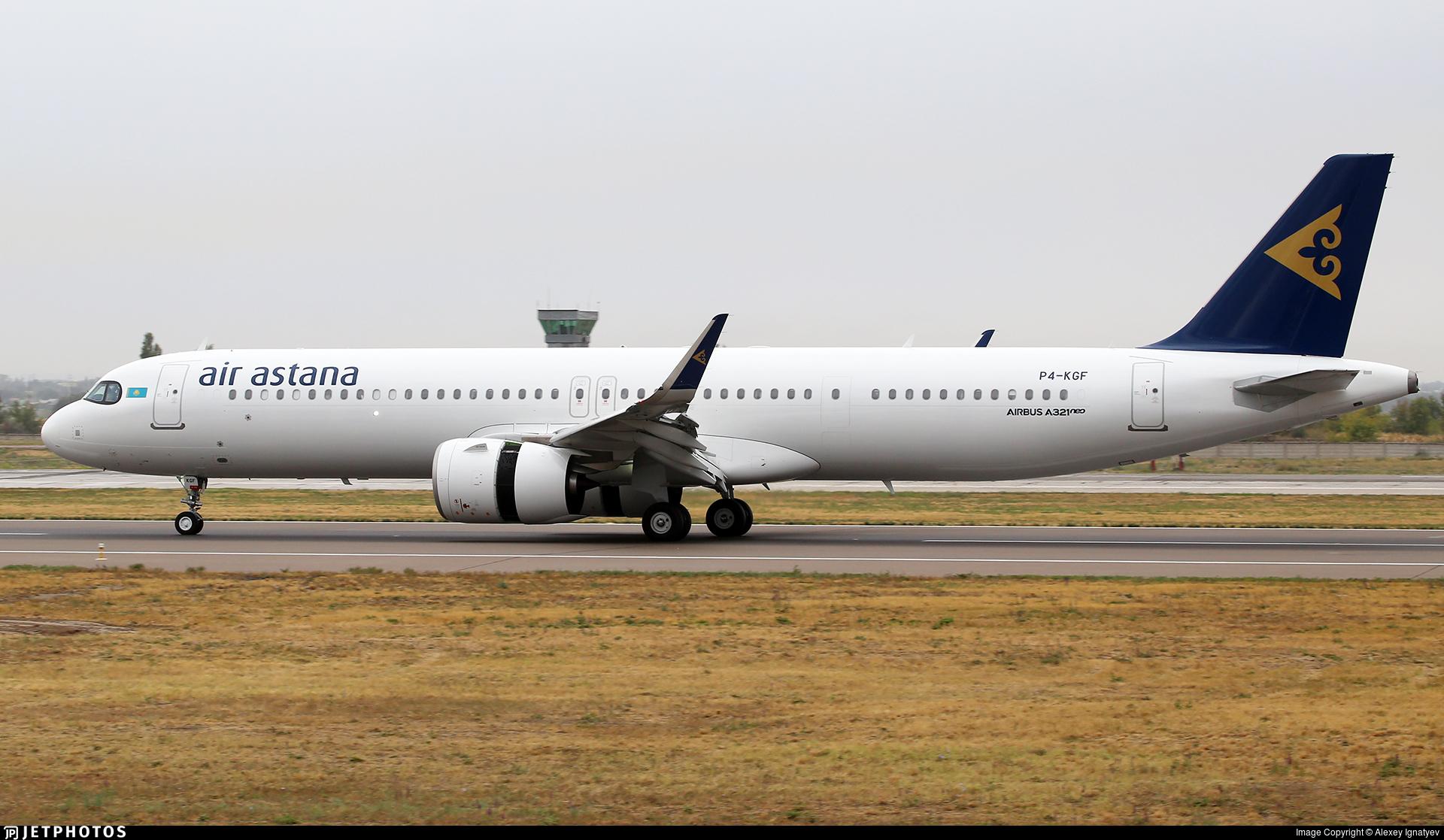 P4-KGF - Airbus A321-271NX - Air Astana