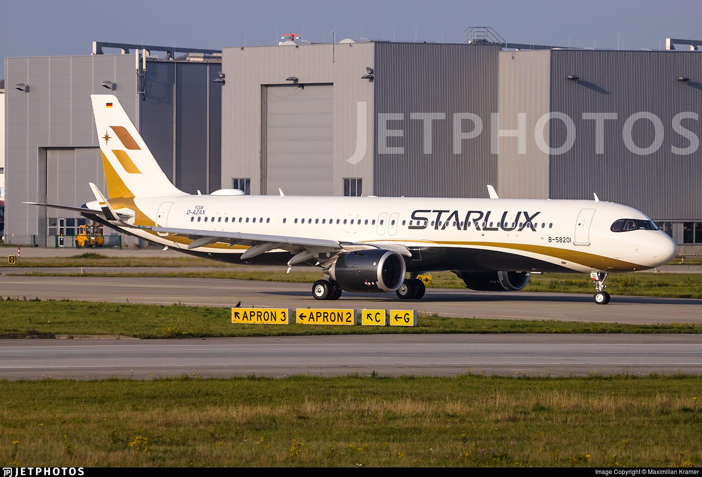 D-AZAX - Airbus A321-252NX - Starlux