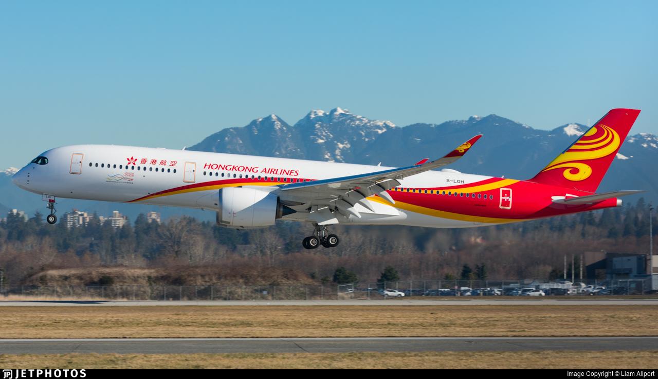 B-LGH - Airbus A350-941 - Hong Kong Airlines
