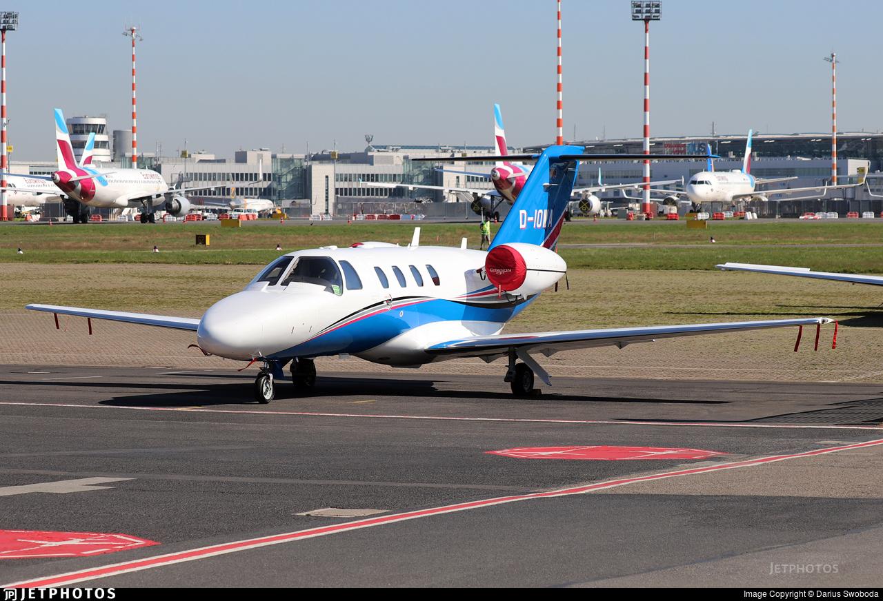 D-IOWA - Cessna 525 CitationJet 1 Plus - Private