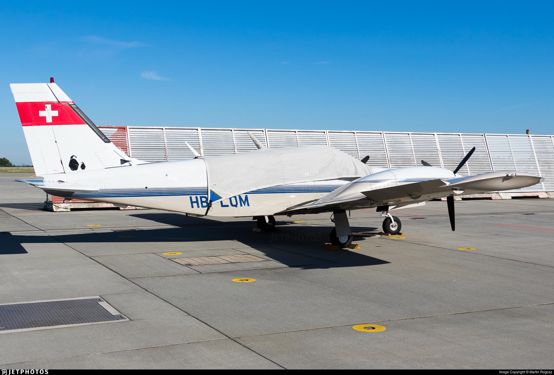 HB-LQM - Piper PA-34-220T Seneca III - Private