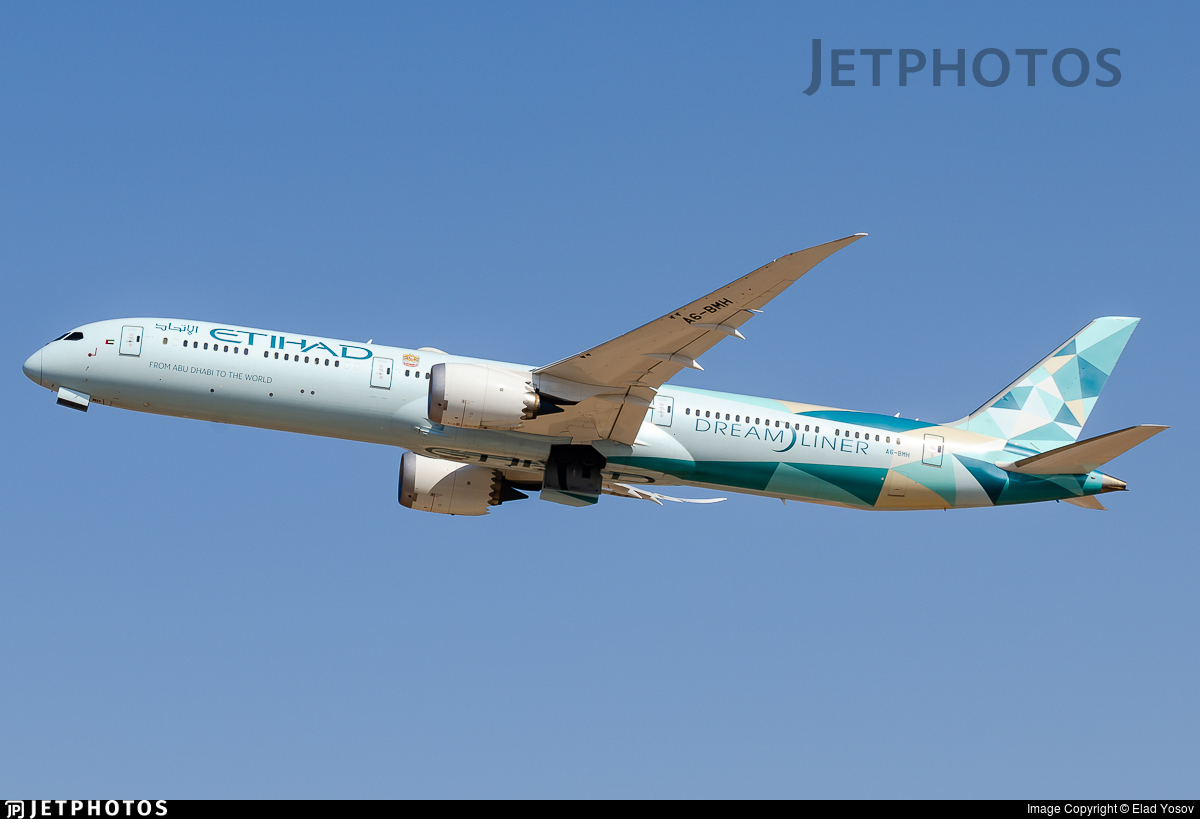 A6-BMH - Boeing 787-10 Dreamliner - Etihad Airways