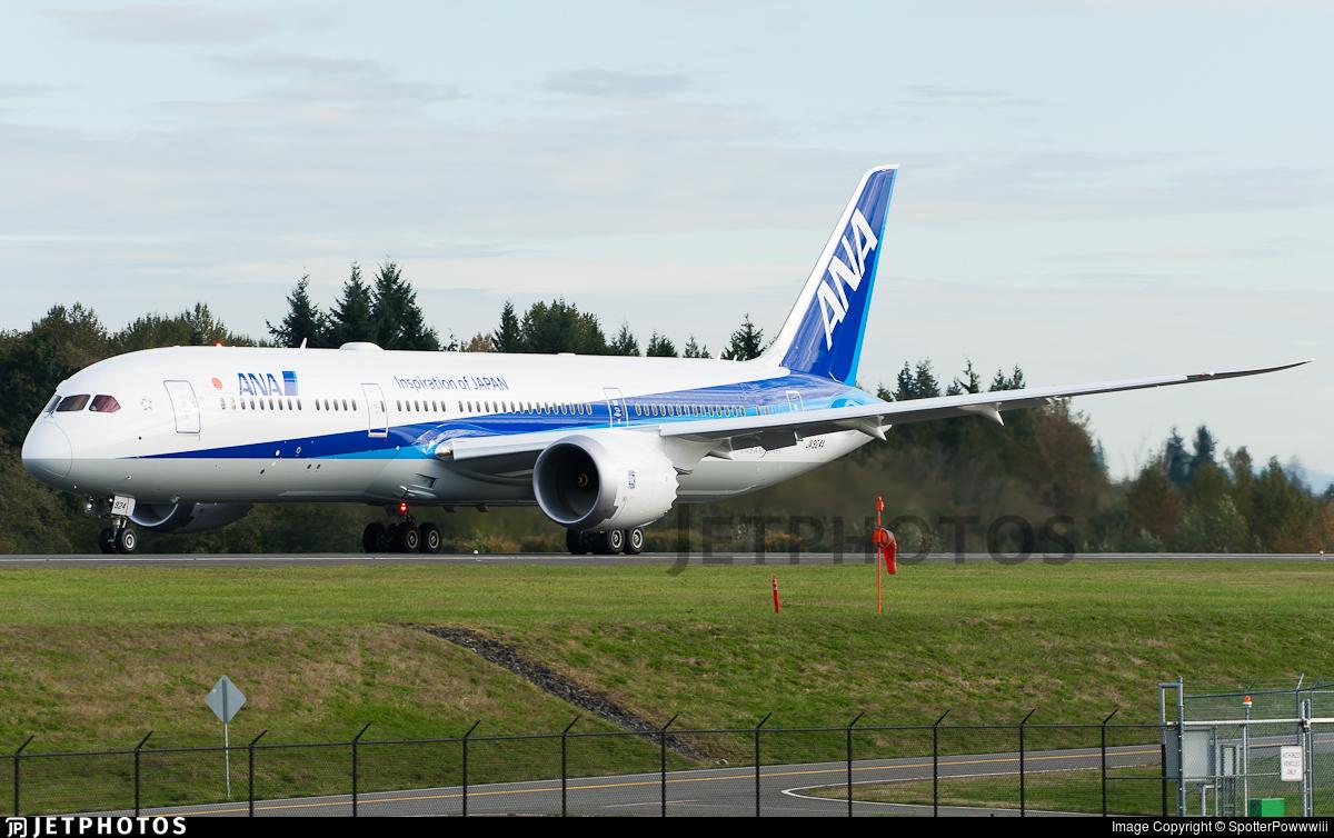 JA924A - Boeing 787-9 Dreamliner - All Nippon Airways (ANA)