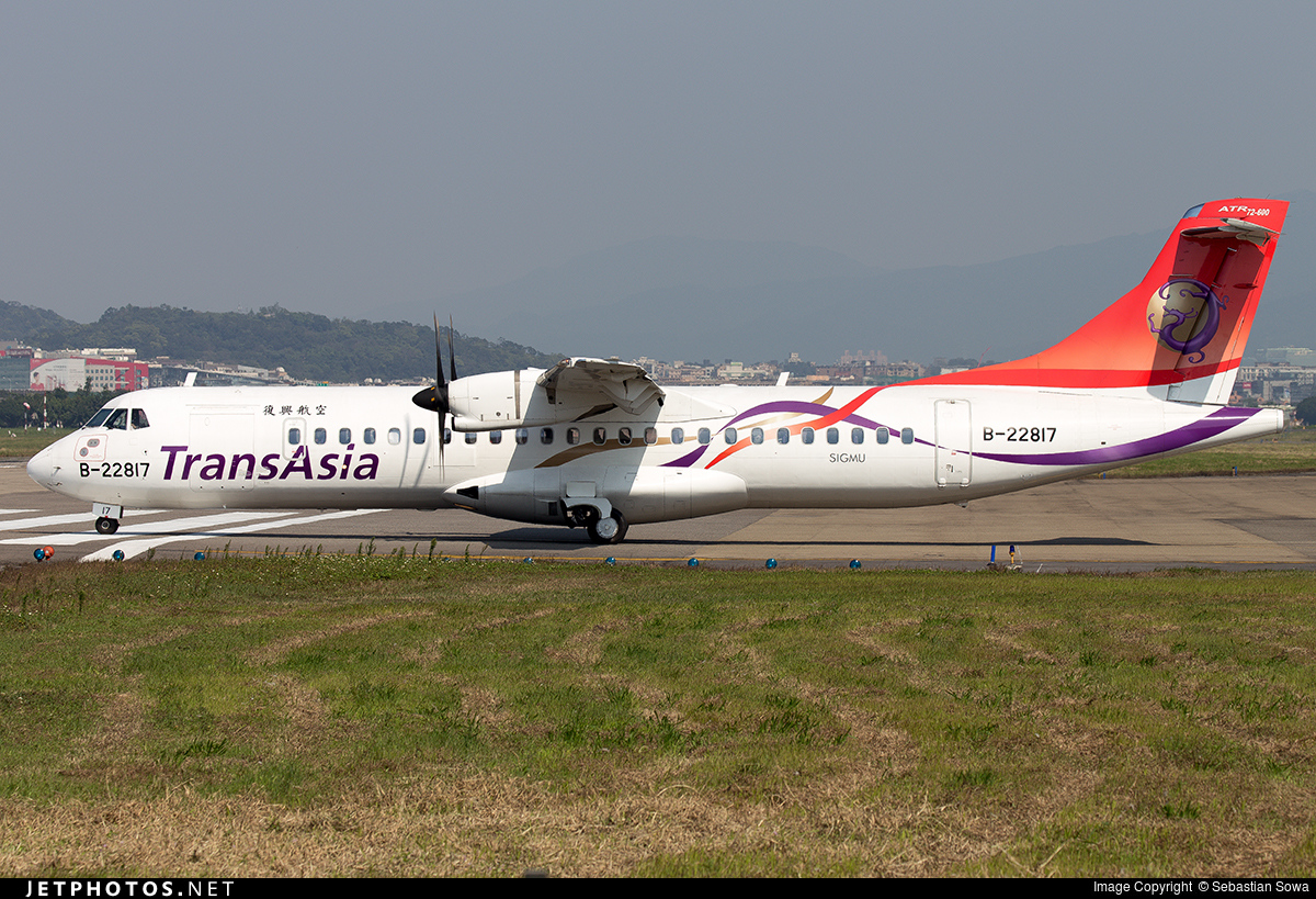 B-22817 - ATR 72-212A(600) - TransAsia Airways