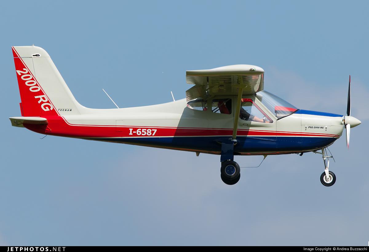 I-6587 - Tecnam P92-2000RG - Private