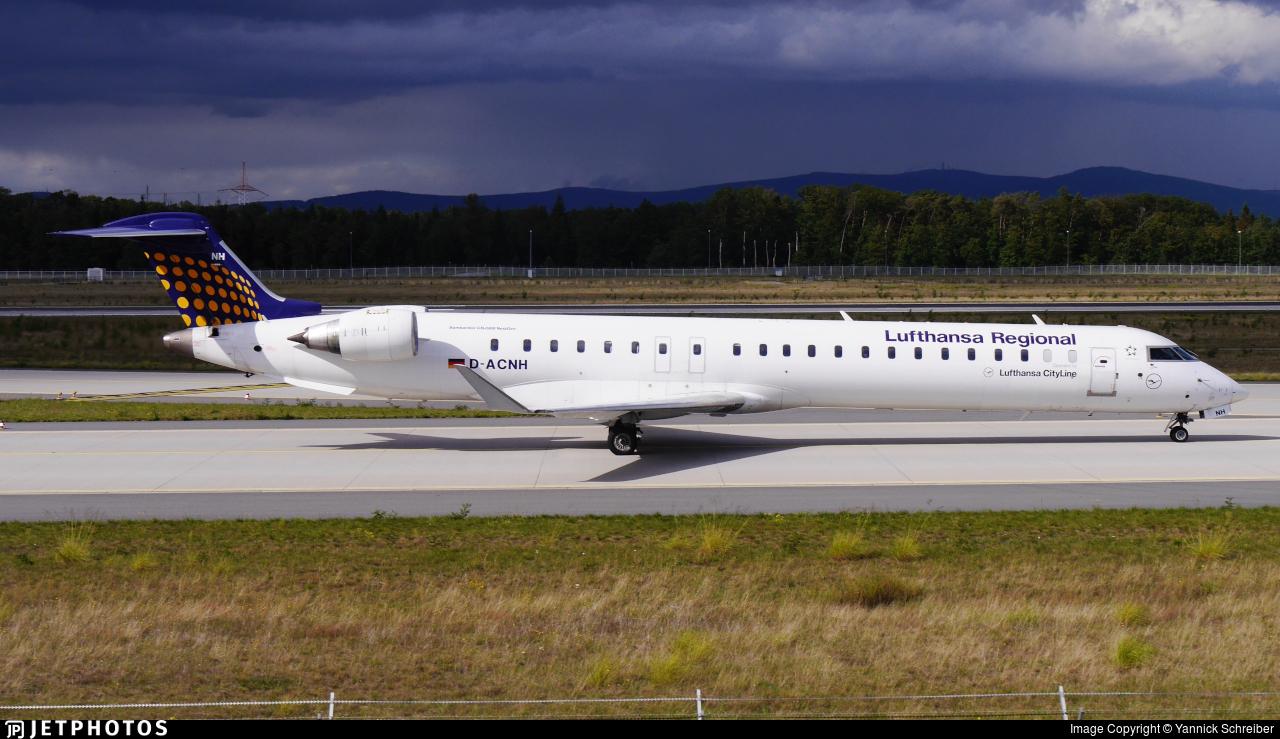 D-ACNH - Bombardier CRJ-900LR - Lufthansa Regional (CityLine)