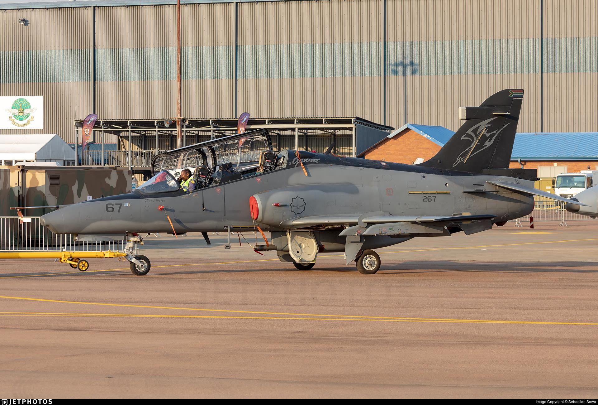 267 - British Aerospace Hawk Mk.120 - South Africa - Air Force