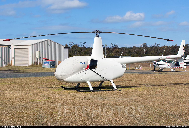 VH-FUX - Robinson R44 Raven II - Private
