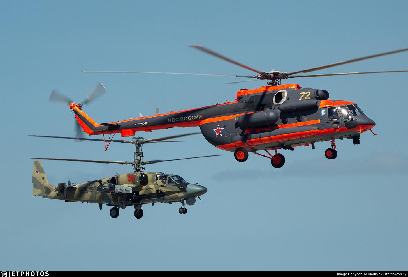 72 - Mil Mi-8AMTSh Hip - Russia - Air Force