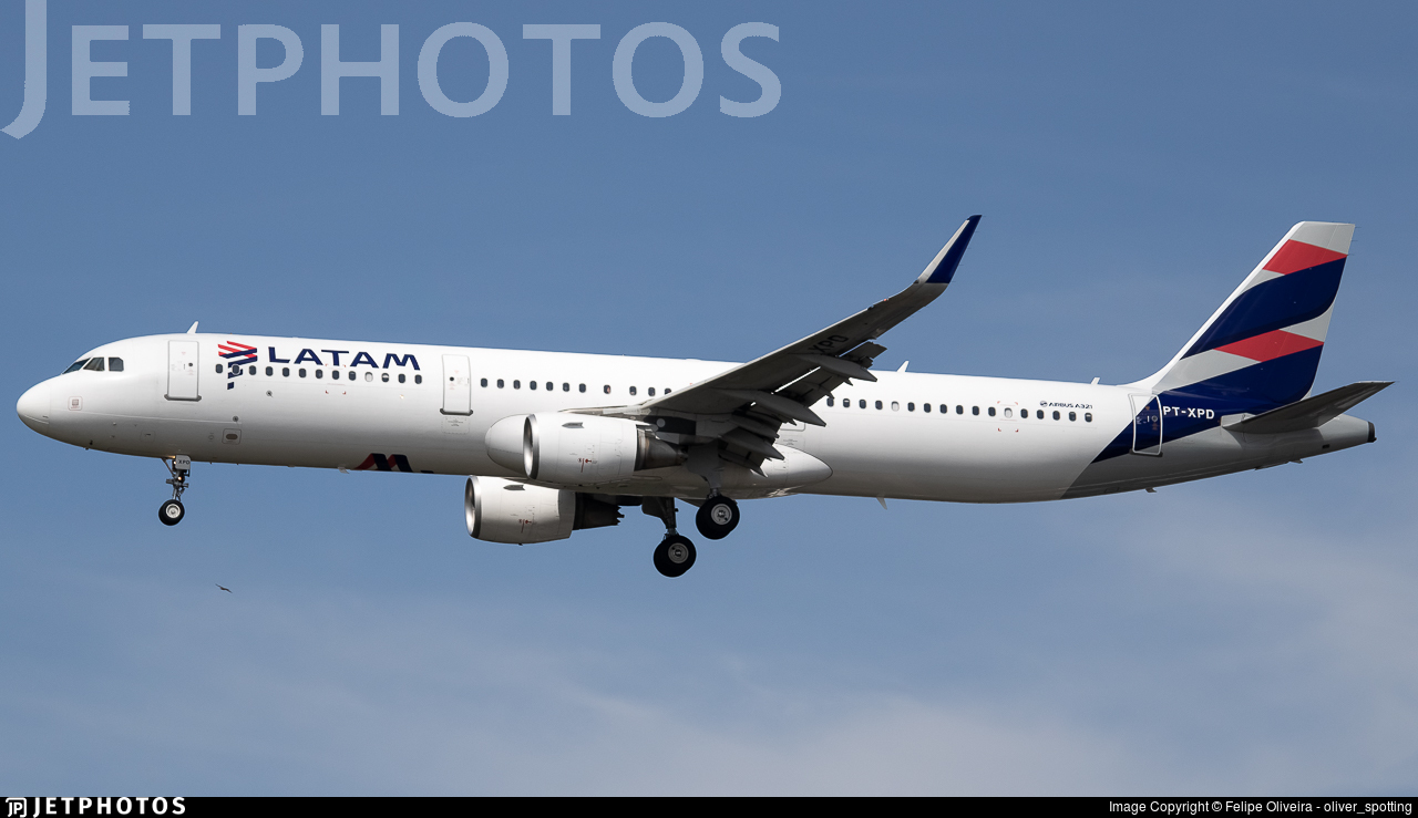 PT-XPD - Airbus A321-211 - LATAM Airlines