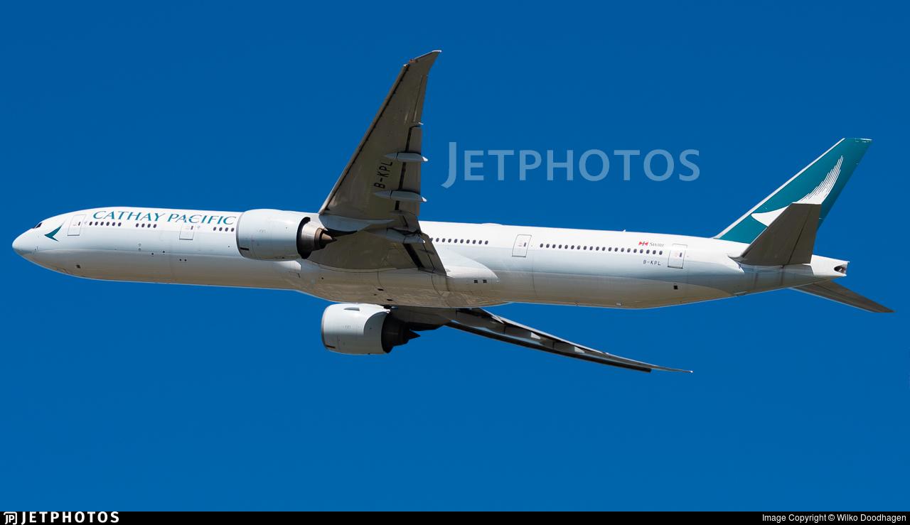 B-KPL - Boeing 777-367ER - Cathay Pacific Airways