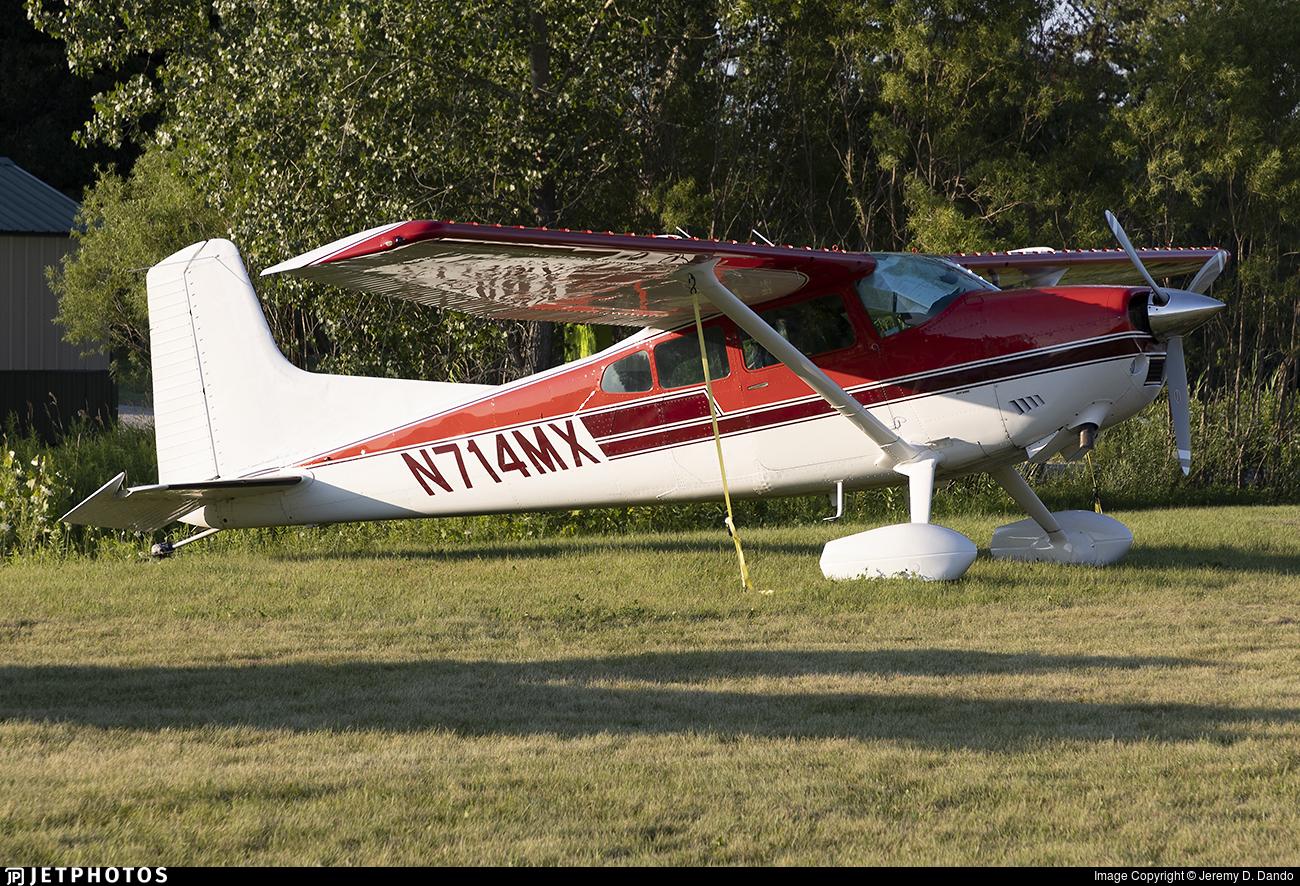 N414MX - Cessna A185F Skywagon - Private