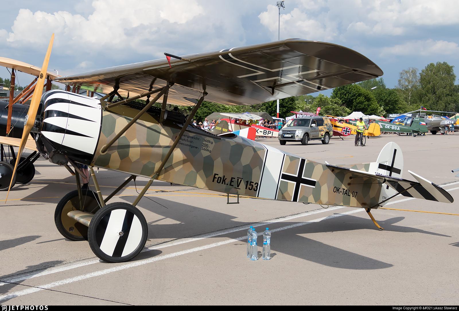 OK-TAL07 - Fokker D.VIII - Private