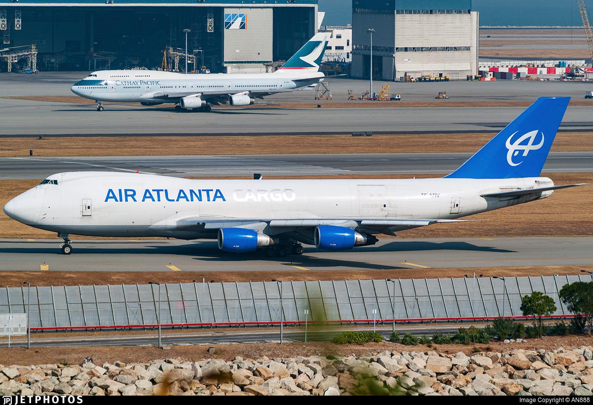 TF-ARV - Boeing 747-230F(SCD) - Air Atlanta Icelandic