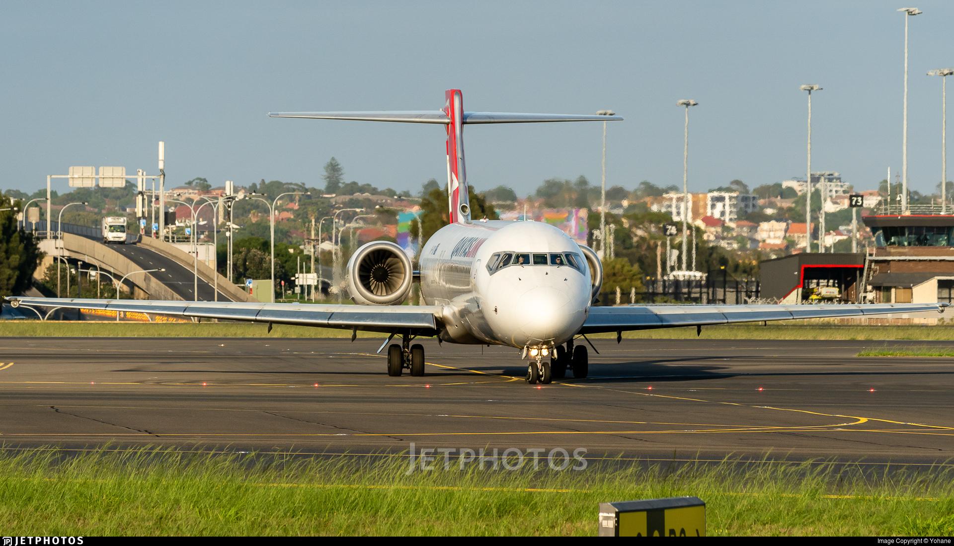 VH-YQV - Boeing 717-2BL - QantasLink