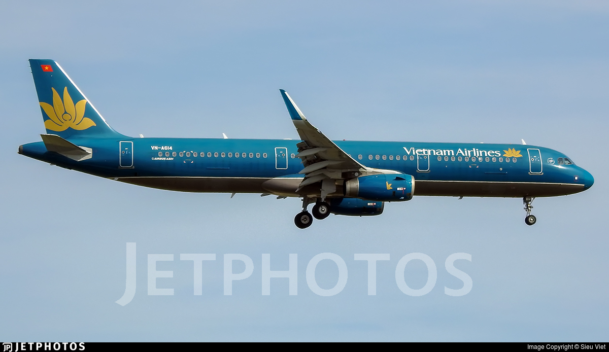 VN-A614 - Airbus A321-231 - Vietnam Airlines