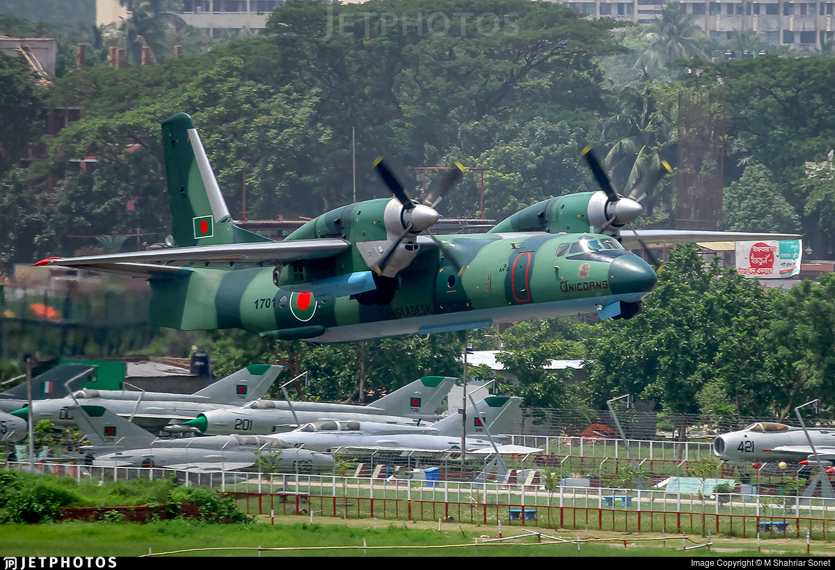 1701 - Antonov An-32 - Bangladesh - Air Force