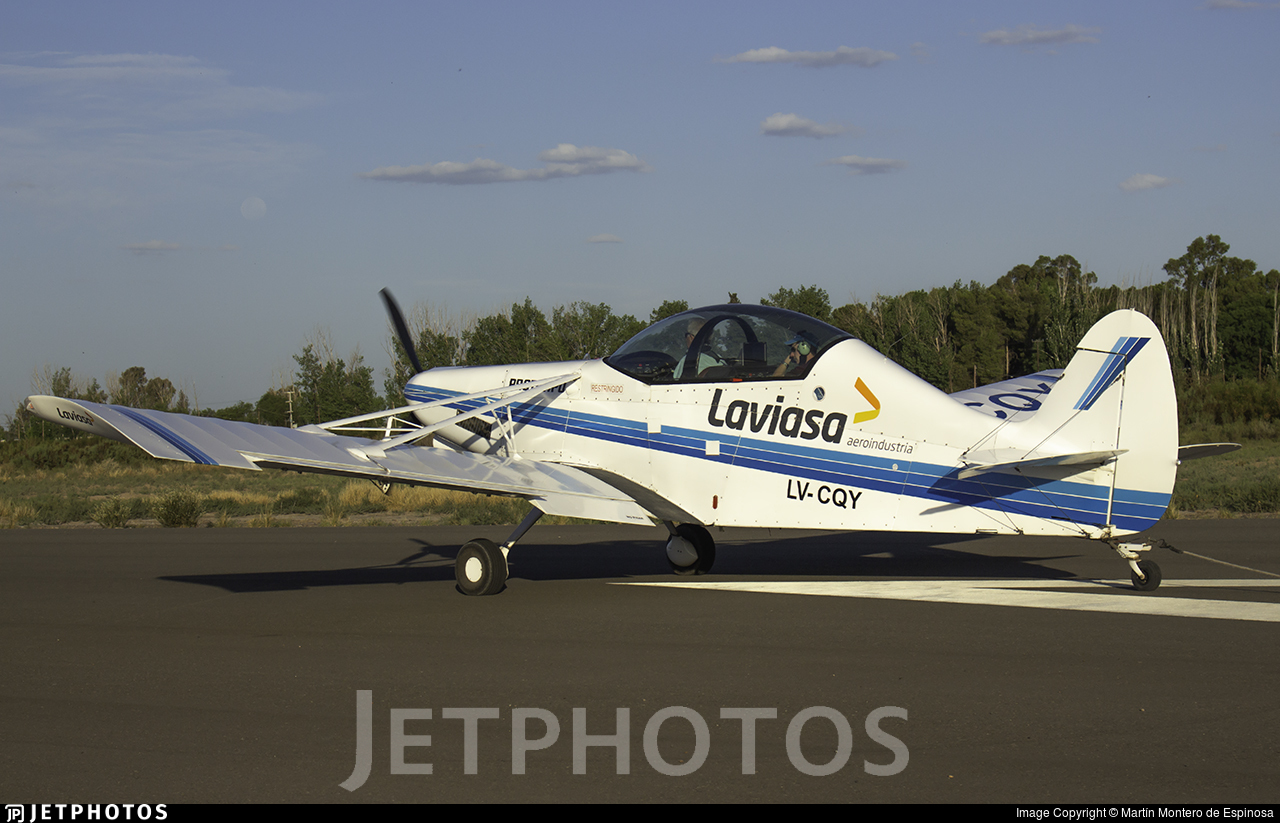 LV-CQY - Laviasa PA-25-260 Puelche - Private
