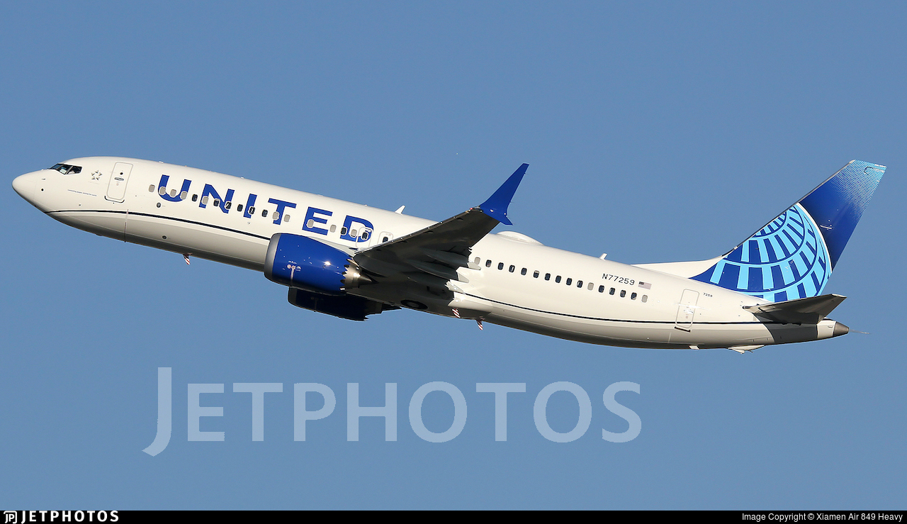 N77259 - Boeing 737-8 MAX - United Airlines