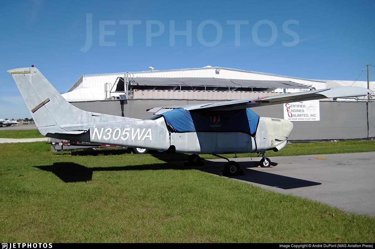 N305WA - Cessna T210R Turbo Centurion II - Private