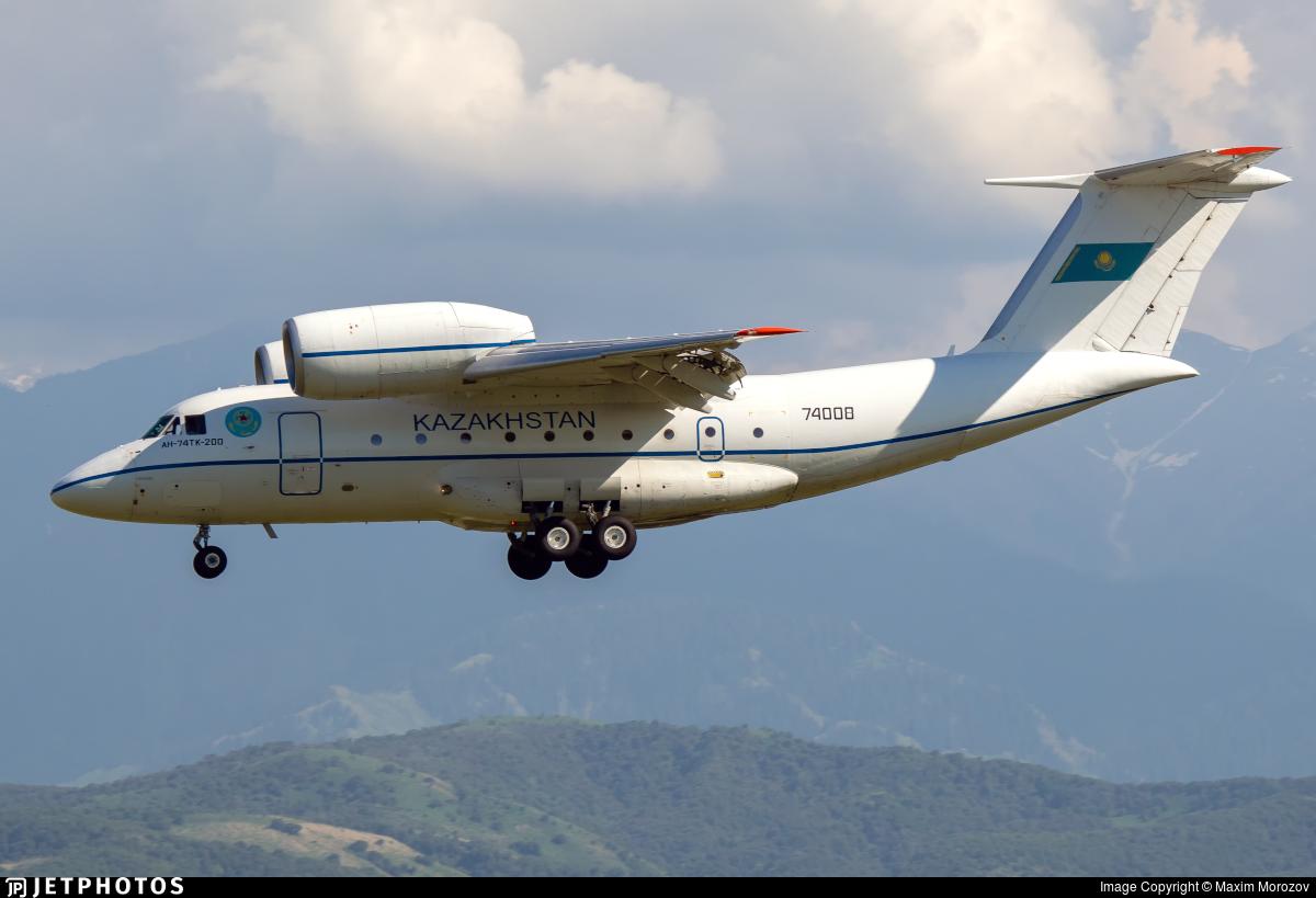 74008 - Antonov An-74TK-200VIP - Kazakhstan - Border Guard