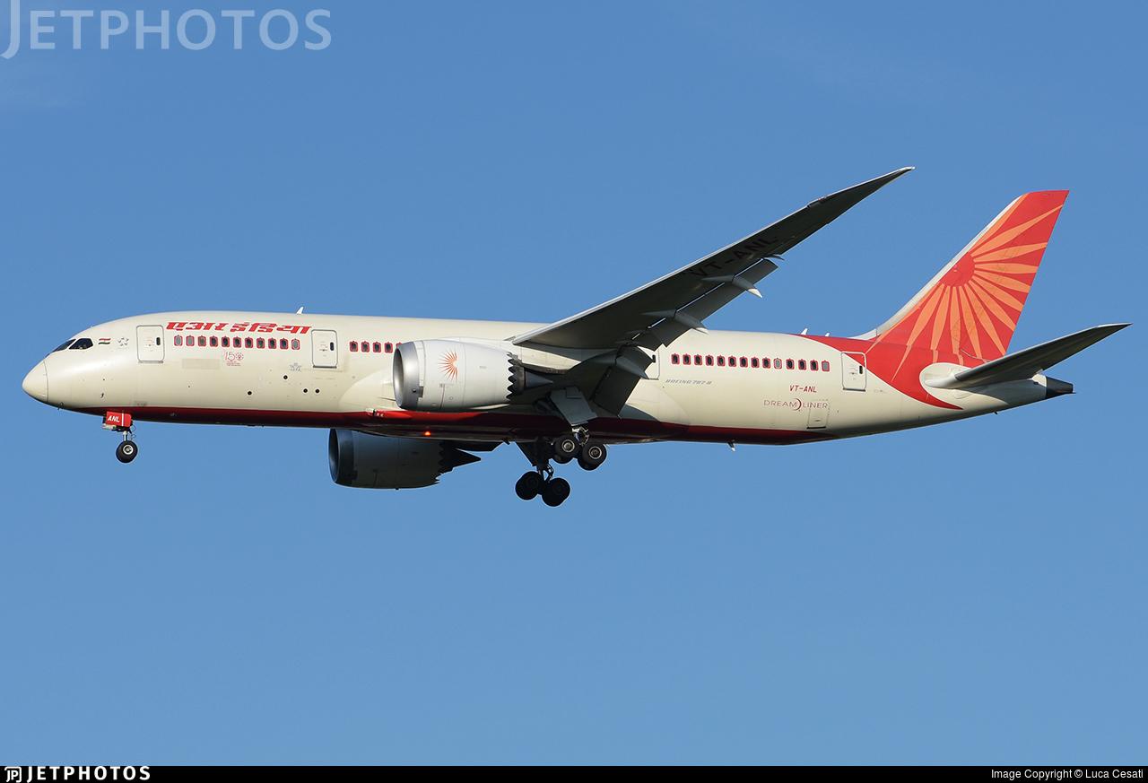 VT-ANL - Boeing 787-8 Dreamliner - Air India