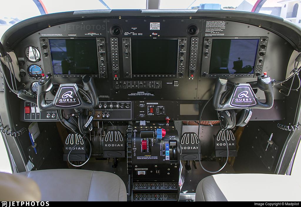 N500QK - Quest Aircraft Kodiak 100 - Private