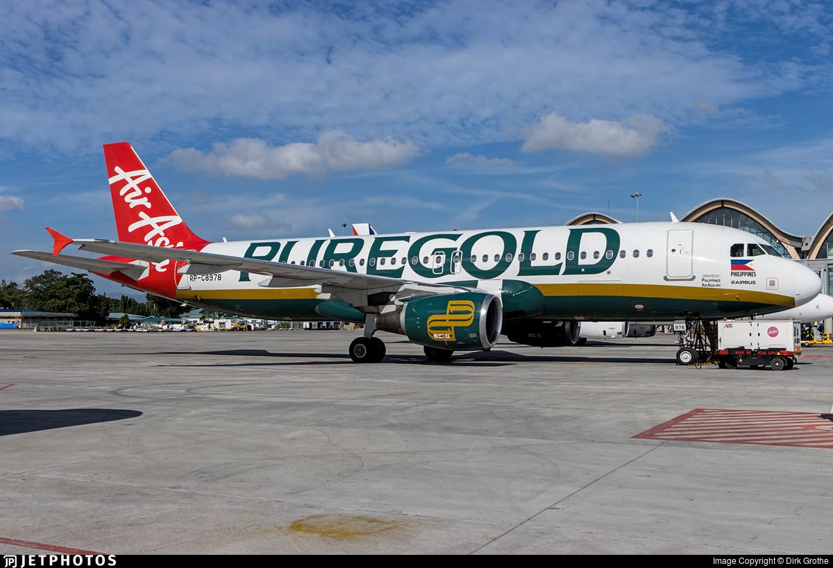RP-C8978 - Airbus A320-216 - Philippines AirAsia