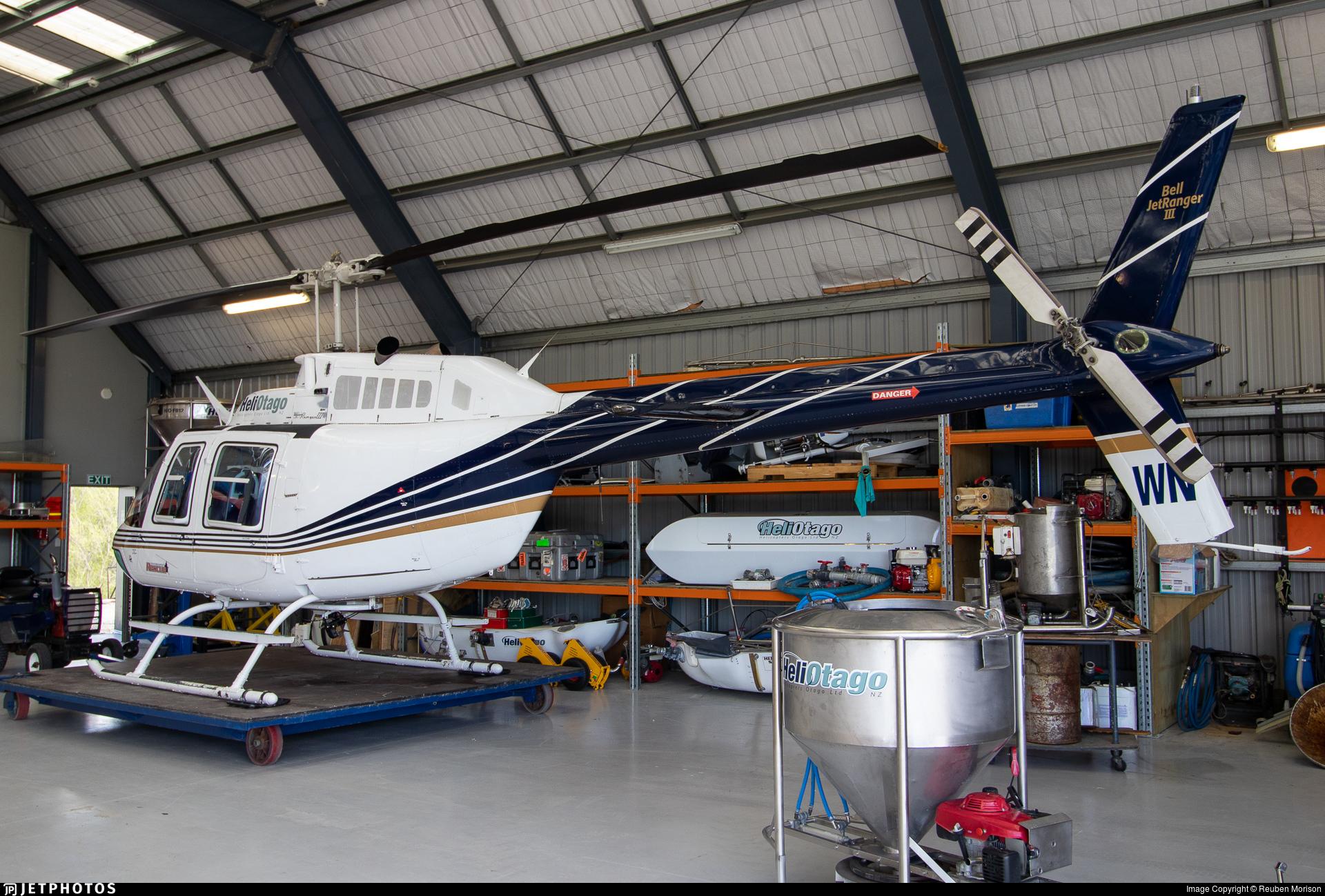 ZK-HWN - Bell 206B JetRanger III - Helicopters Otago