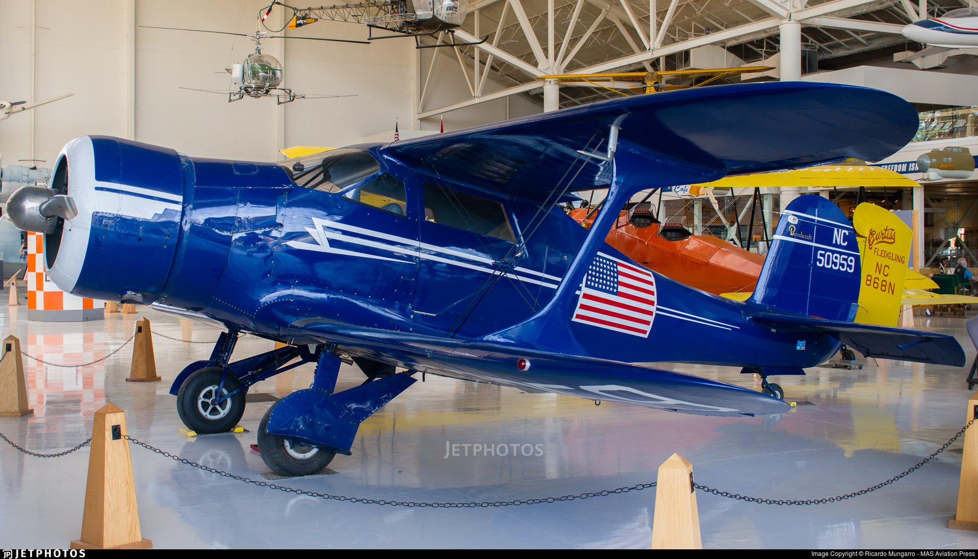 N50959 - Beechcraft 17 Staggerwing - Private