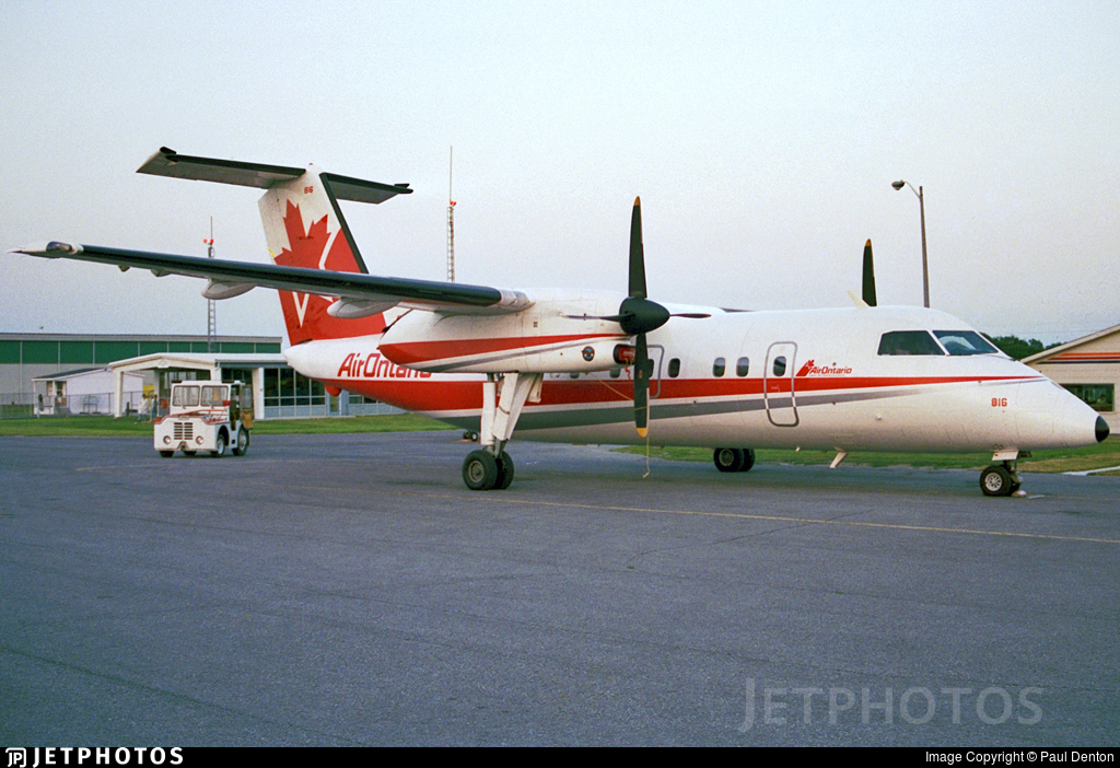 C-GABF - Bombardier Dash 8-102 - Air Ontario