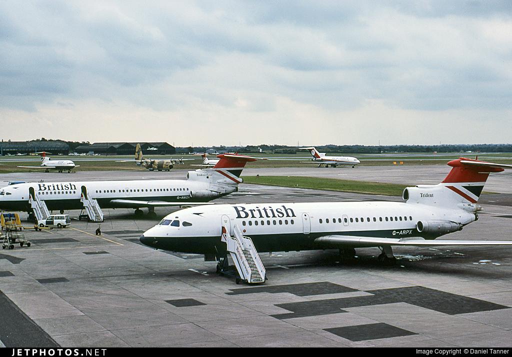 G-ARPX - Hawker Siddeley HS-121 Trident 1 - British Airways