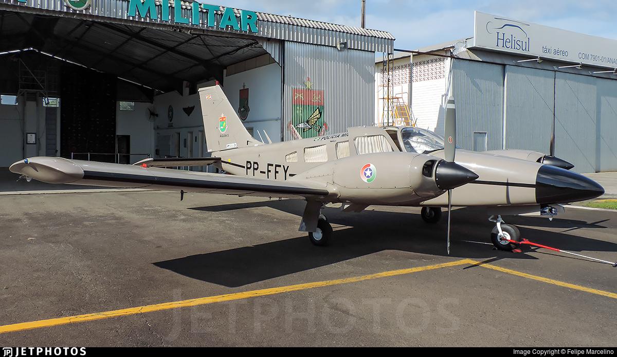 PP-FFY - Embraer EMB-810 Seneca - Brazil - Military Police