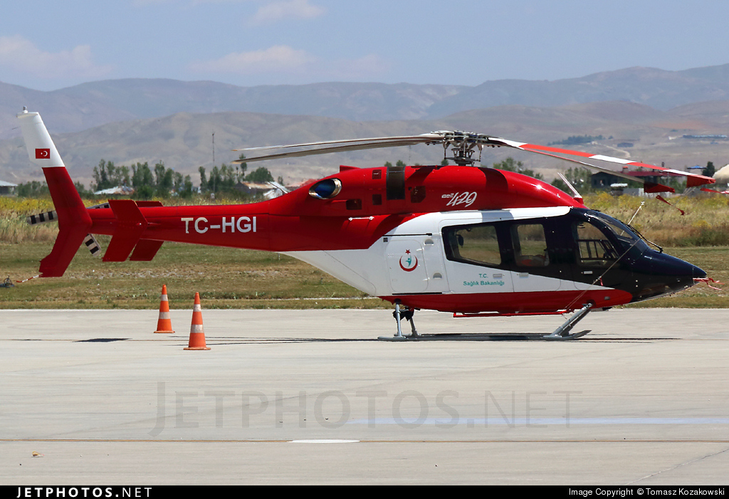 TC-HGI - Bell 429 - Turkey - Ministry of Health