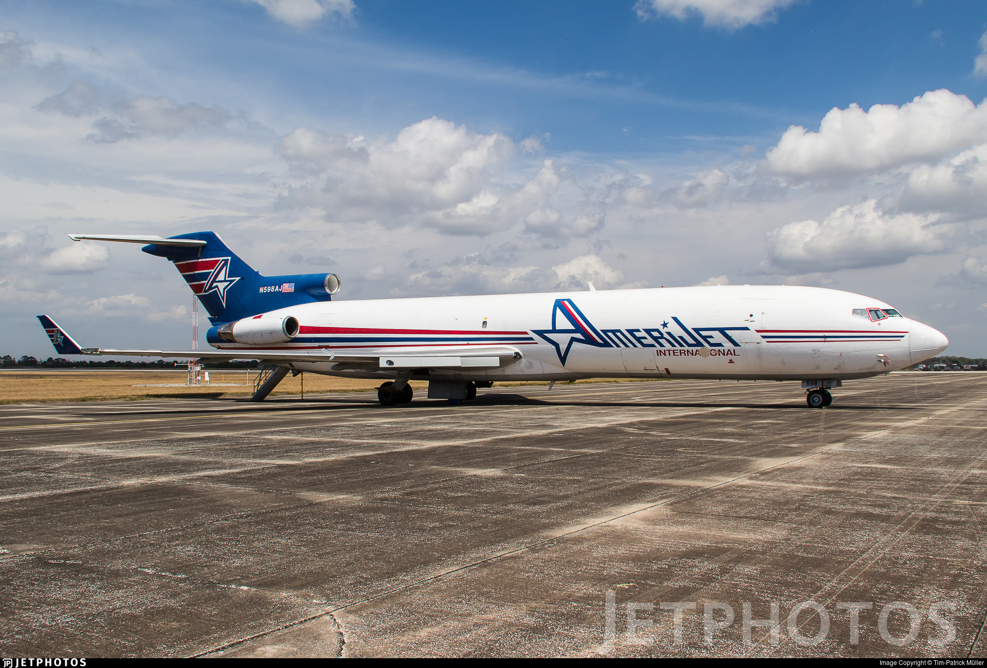 N598AJ | Boeing 727-212(Adv)(F) | Amerijet International | Tim