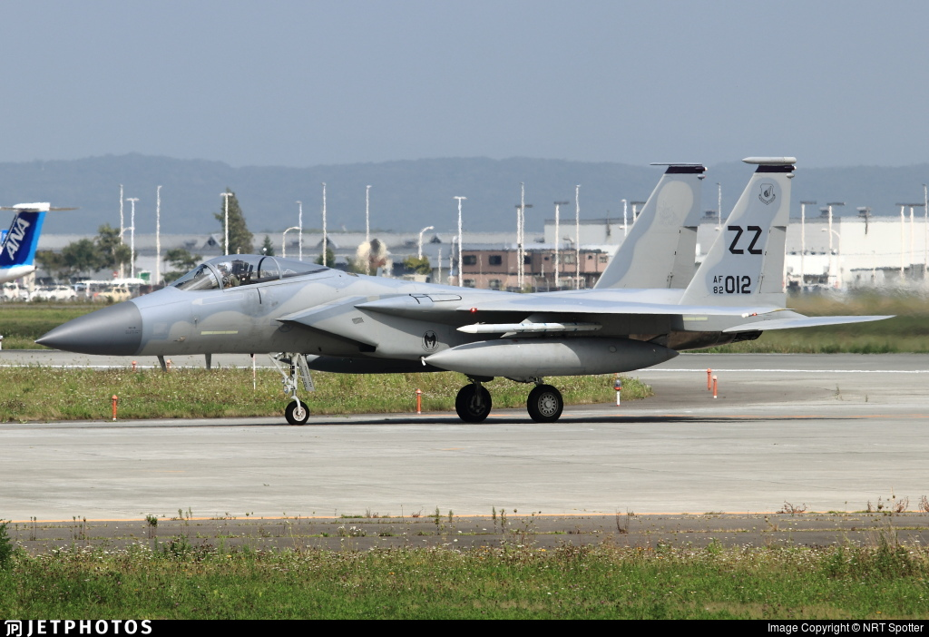 82-0012 - McDonnell Douglas F-15C Eagle - United States - US Air Force (USAF)
