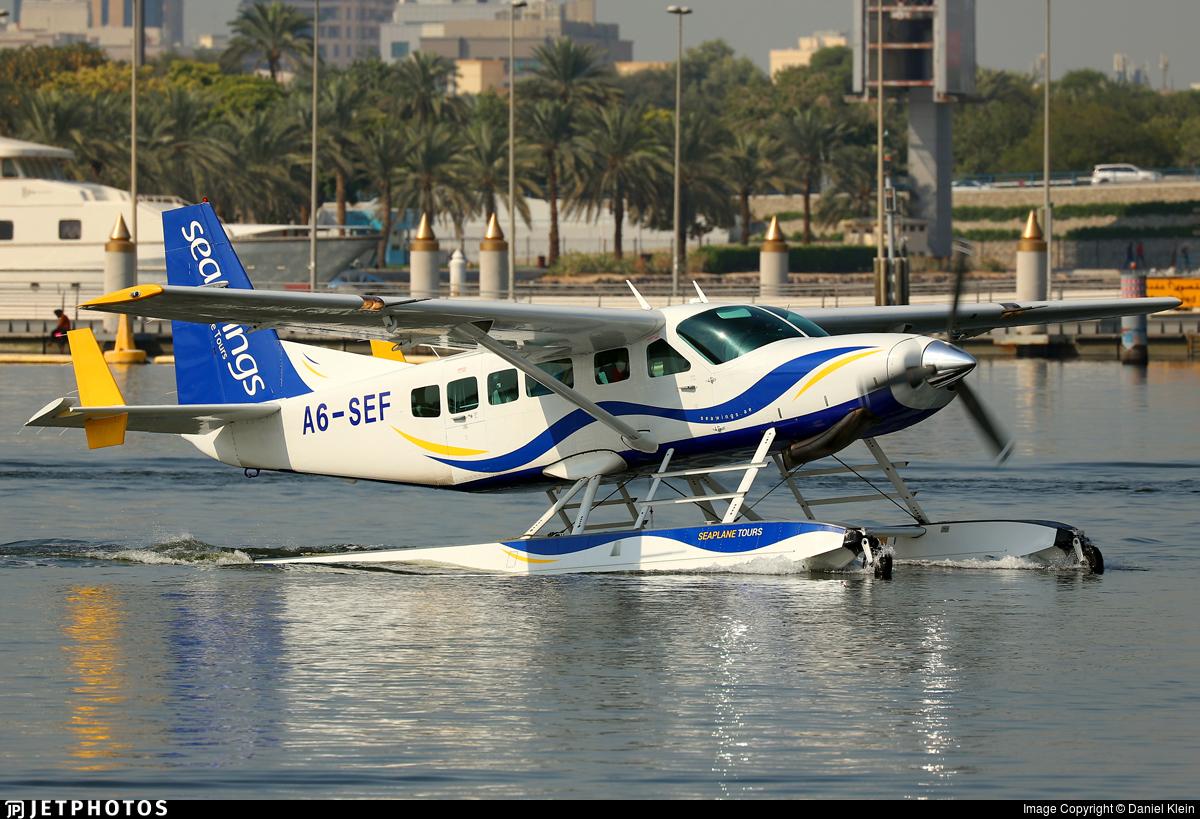 A6-SEF - Cessna 208 Caravan - Seawings (Jet-Ops)