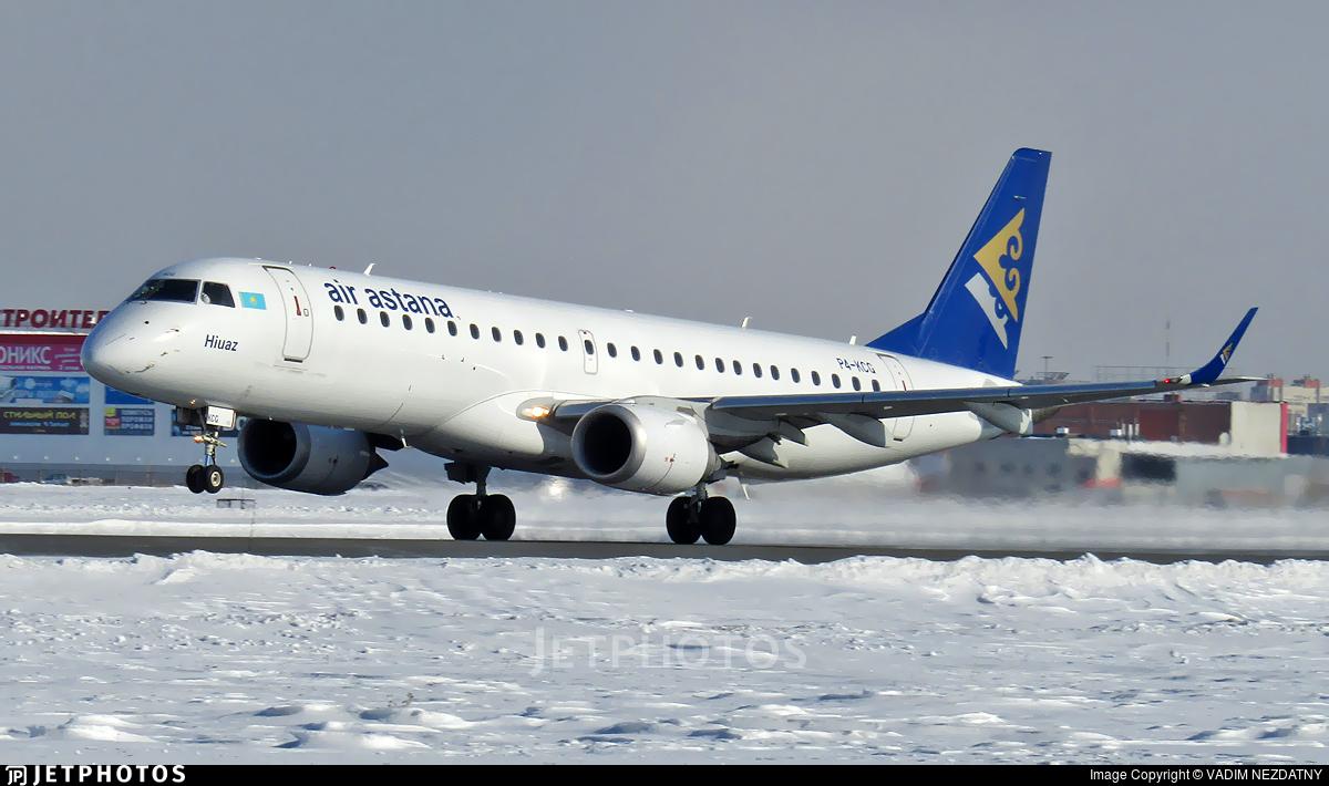 P4-KCG - Embraer 190-100LR - Air Astana