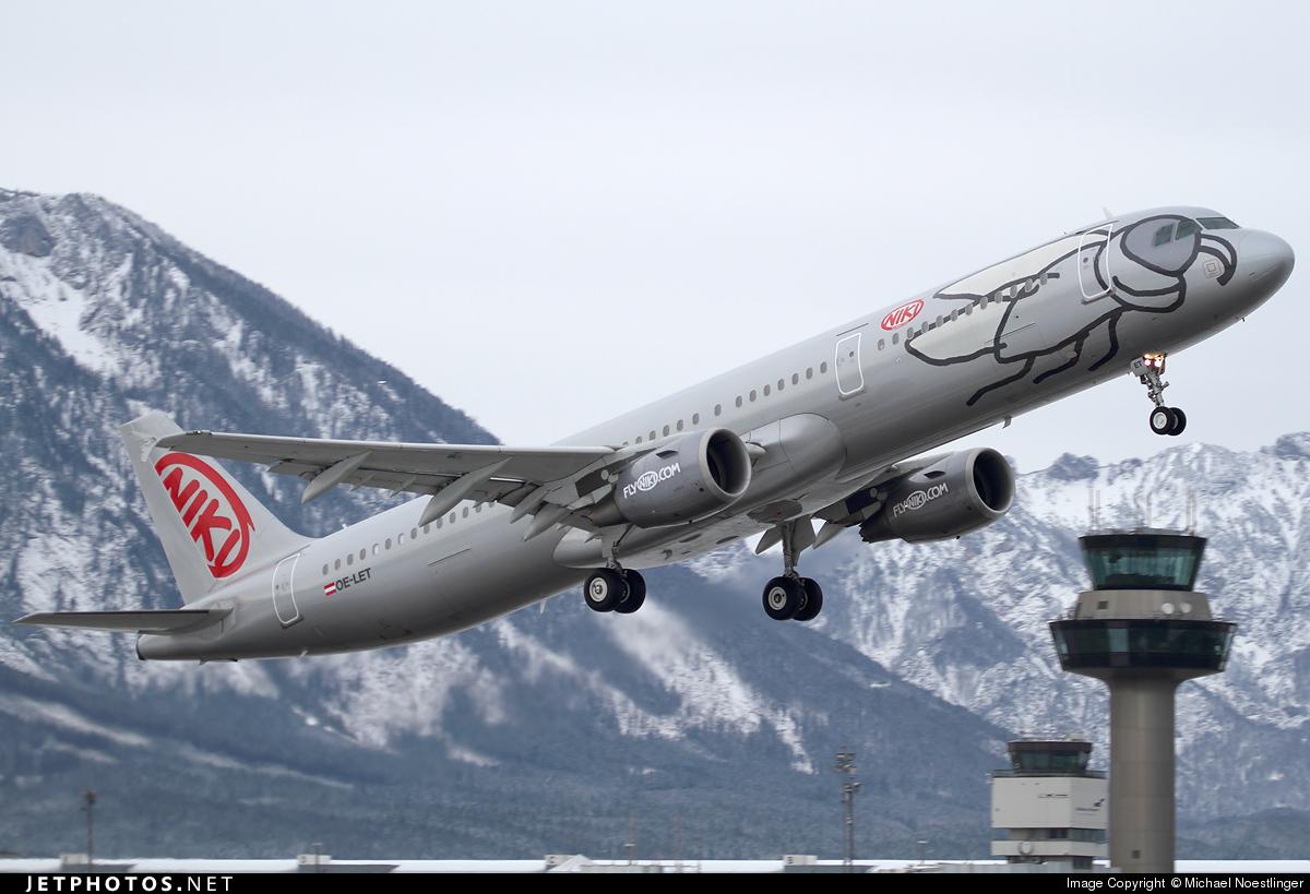 OE-LET - Airbus A321-211 - Niki