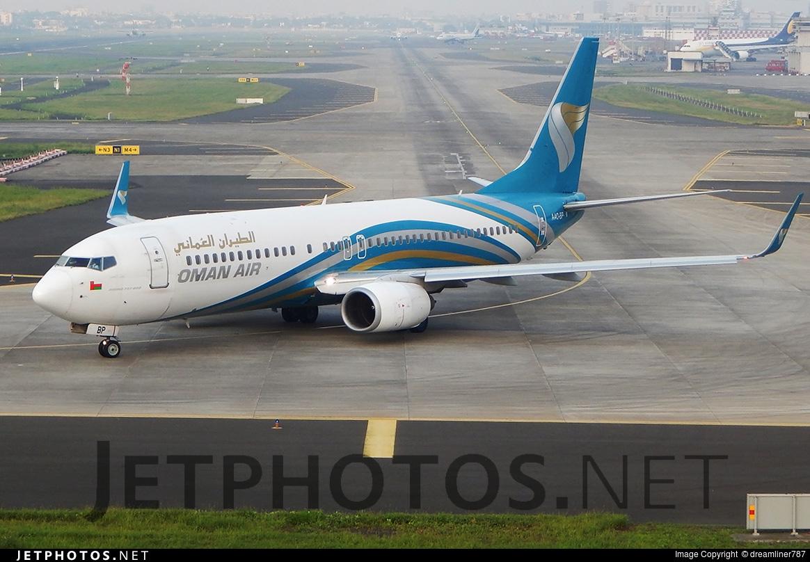 A4O-BP - Boeing 737-8Q8 - Oman Air