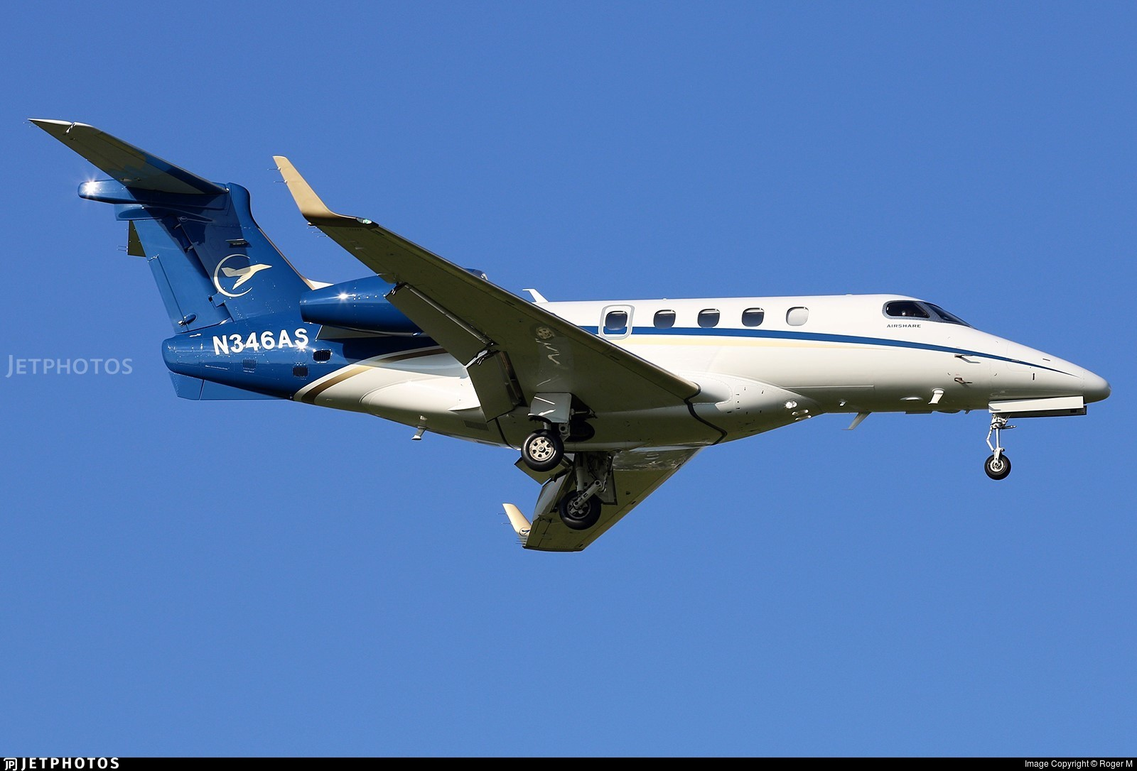 N346AS - Embraer 505 Phenom 300 - AirShare