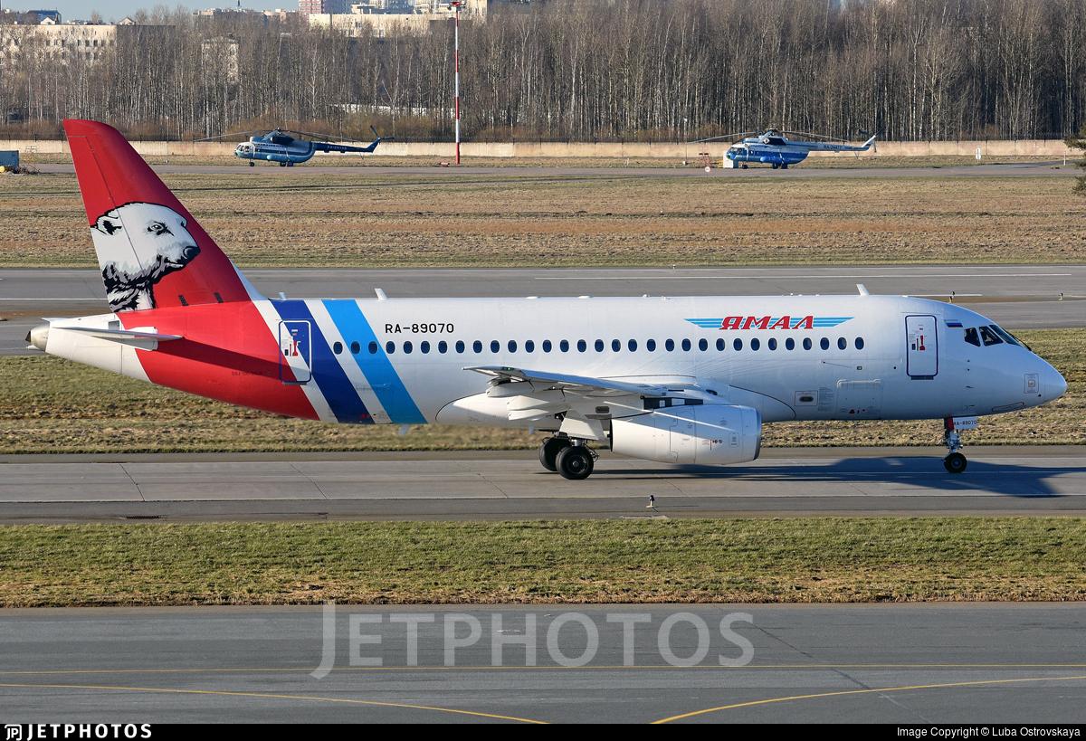 RA-89070 - Sukhoi Superjet 100-95LR - Yamal Airlines