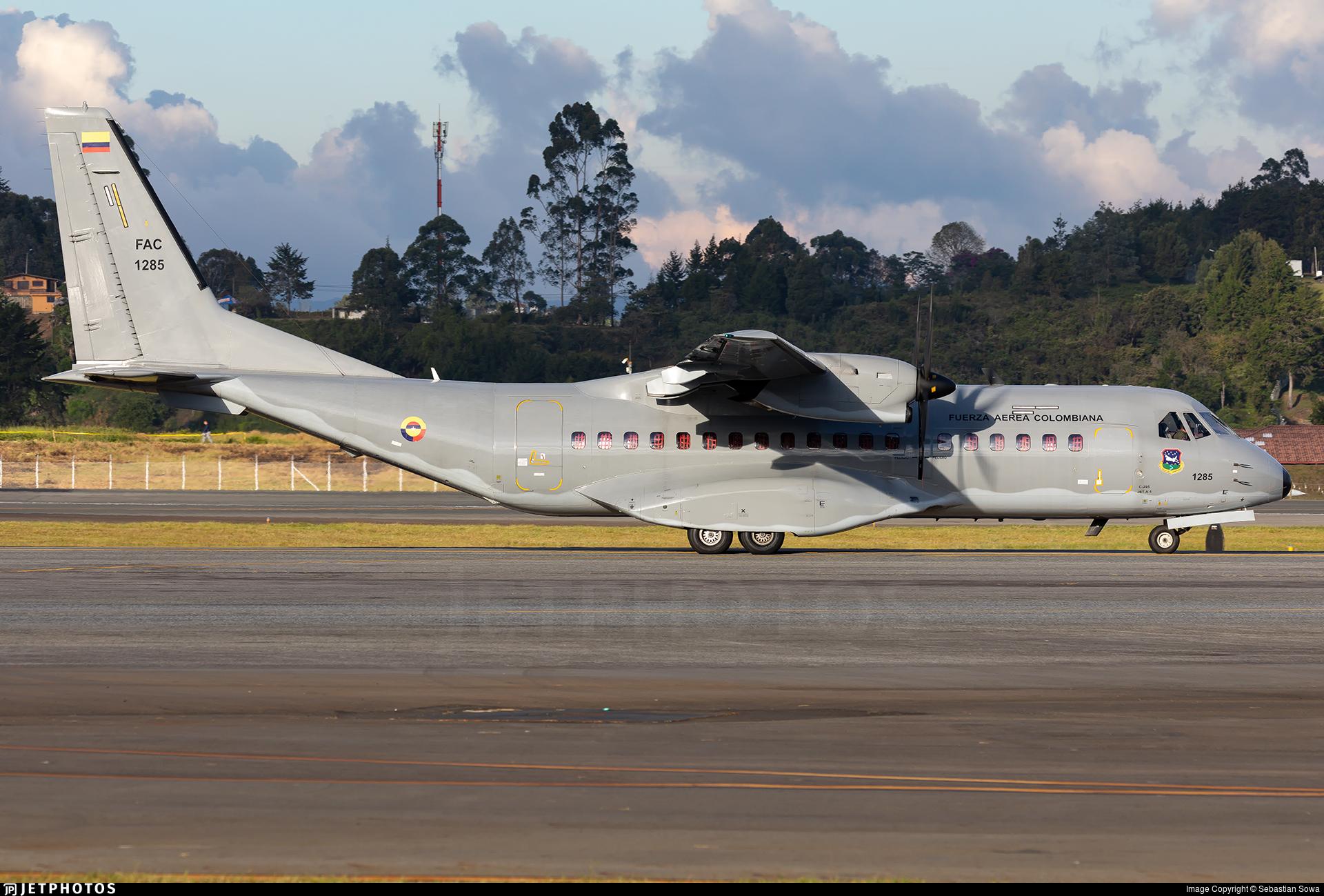 FAC1285 - CASA C-295M - Colombia - Air Force