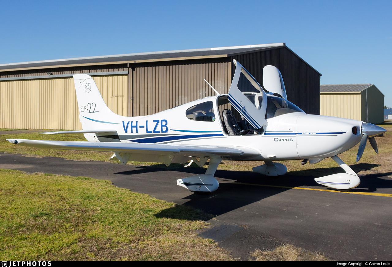 VH-LZB - Cirrus SR22 - Private