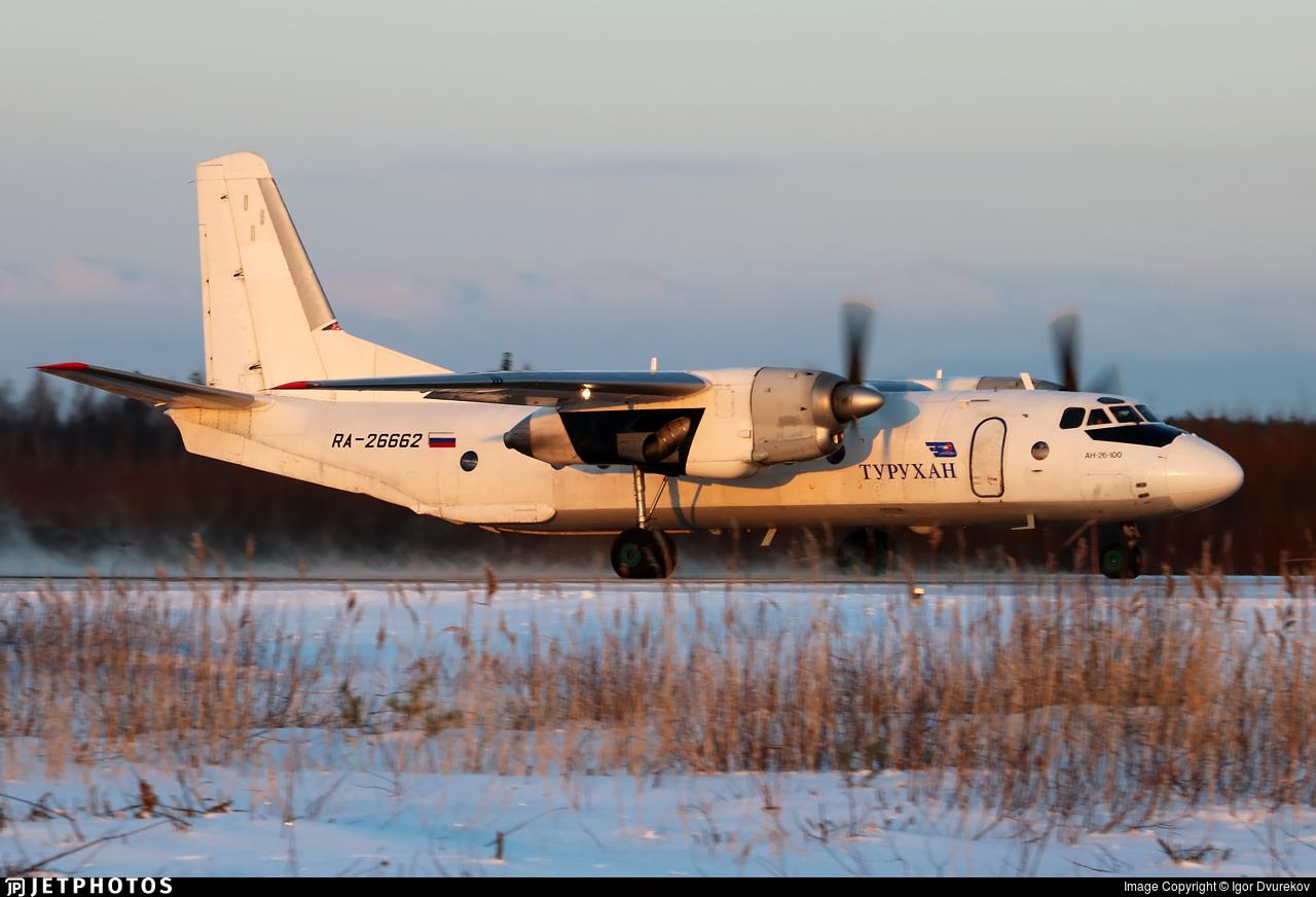 RA-26662 - Antonov An-26-100 - Turuhan Avia