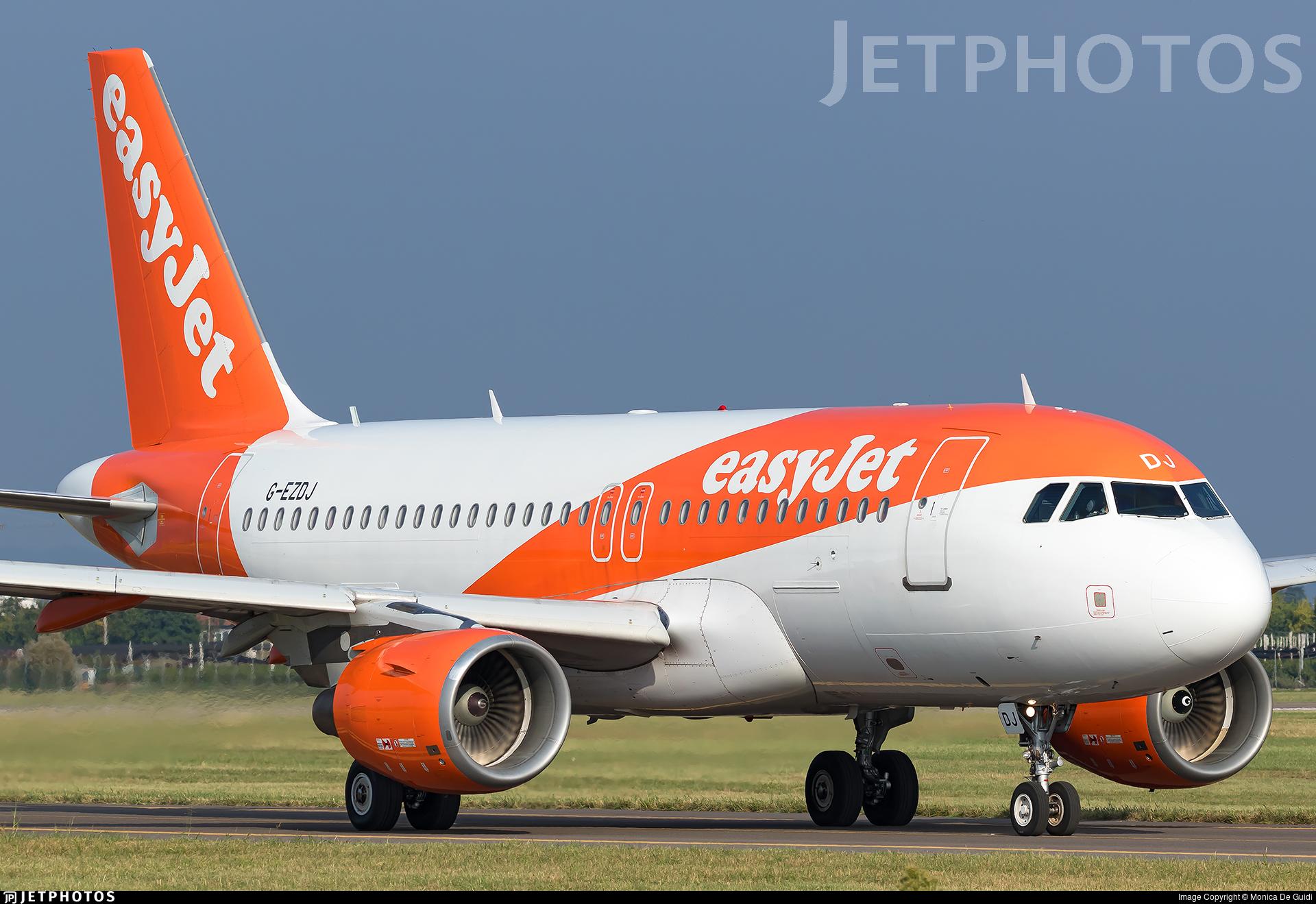 G-EZDJ - Airbus A319-111 - easyJet