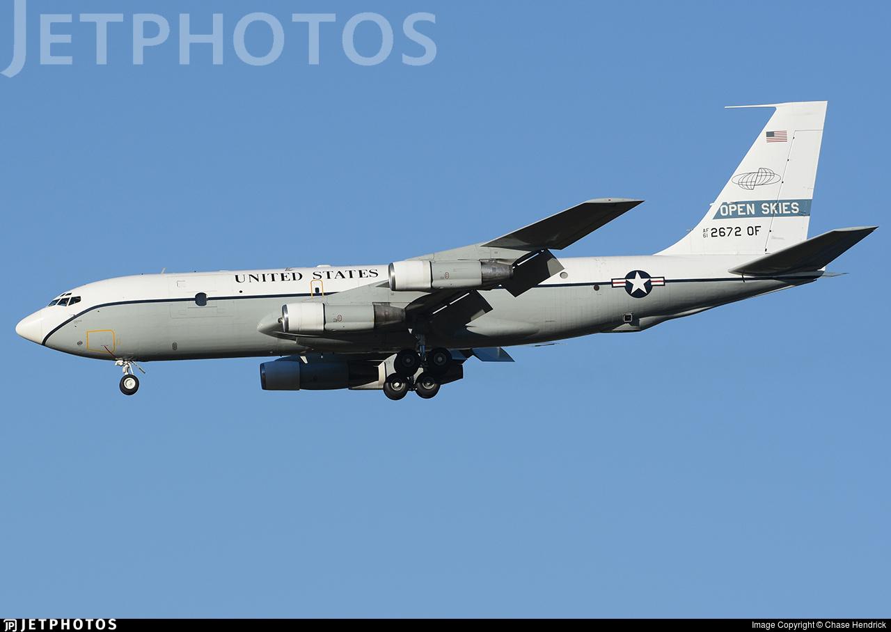 61-2672 - Boeing OC-135B Open Skies - United States - US Air