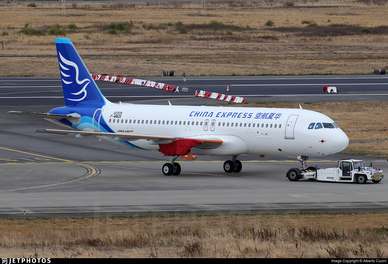 F-WWDK - Airbus A320-271N - China Express Airlines
