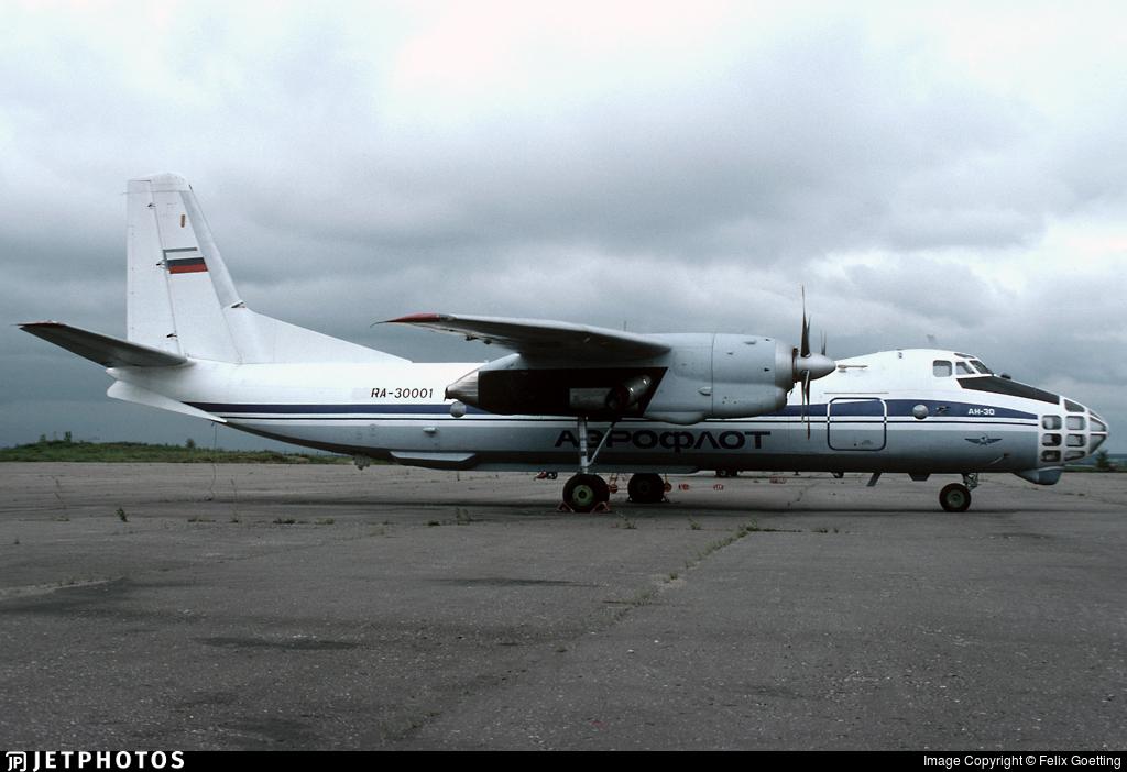RA-30001 - Antonov An-30 - Aeroflot