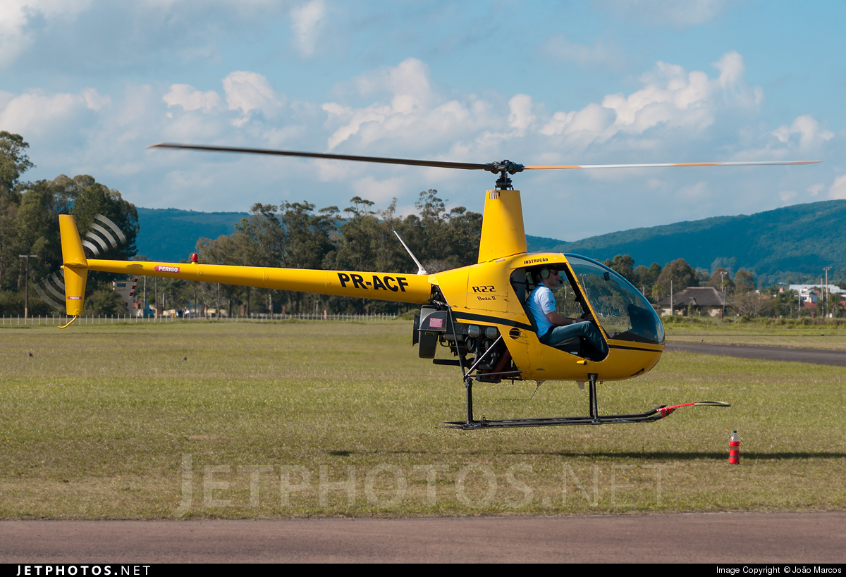 PR-ACF - Robinson R22 Beta - Aero Club - Rio Grande do Sul